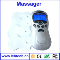 Low price Body mini slimming massager with 4 Pads goos for healty shipped with Retail box
