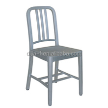 China Manufacturer Hot sale Colorful Aluminum Navy Chair