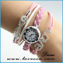 Best discount china wholesale pearl crystal Ladies fany wrist watch women
