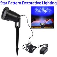 Festival Christmas Outdoor LED Garden White Laser Star Projector Light for Wedding Yard