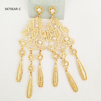 big rolled gold earring designs