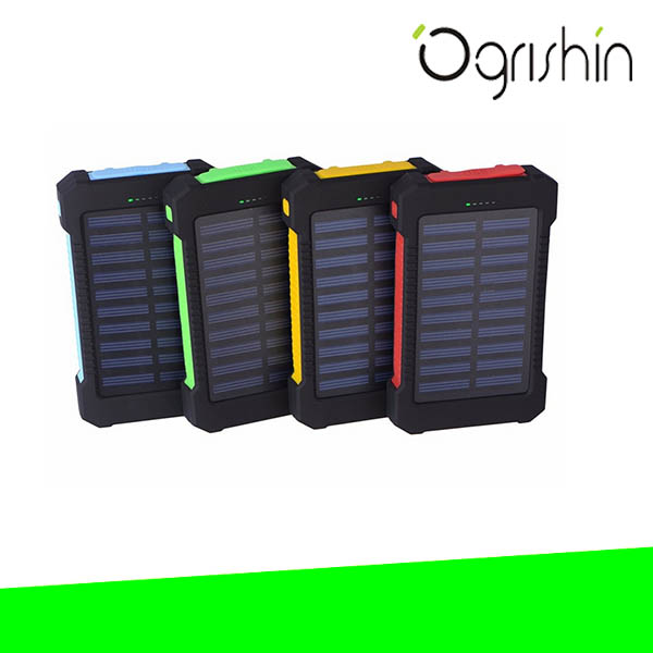 Portable universal solar charger and solar power bank for laptop/notebook/tablet