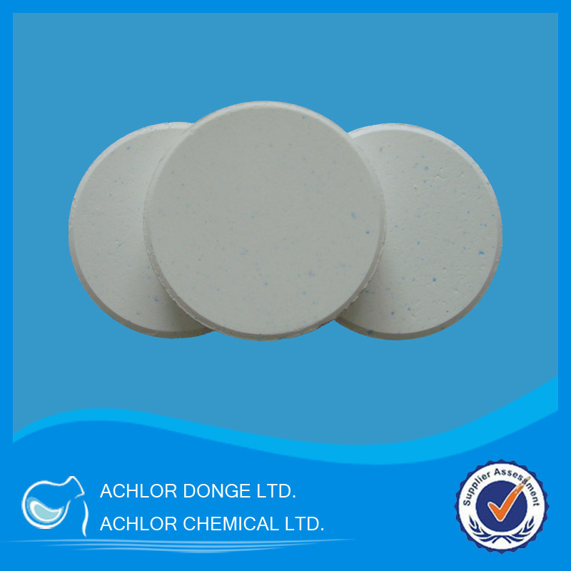 tcca 90% available chlorine tablet
