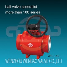 WB-140 All welded natural gas ball valve /new product valve /alibaba china zhejiang wenzhou factory