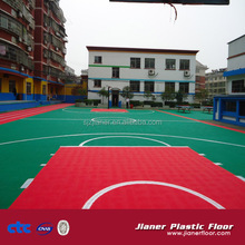 Top sale cheap price PP material basketball flooring outdoor sports court