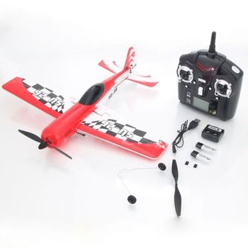 rp-312929 40cm 2.4G 4 Channel Remote Control Beginner RC Airplane Red
