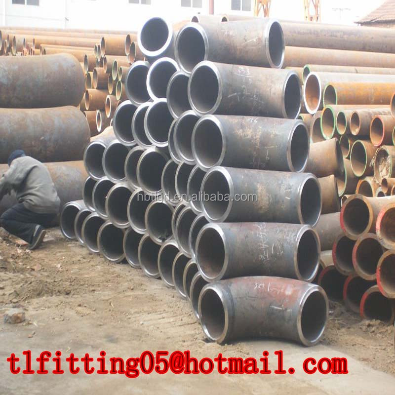 pipe 45 90 degree dimensions elbow carbon steel stainless steel alloy steel tee bend reducer cap flange/pipe fittings