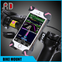 Universal Adjustable Mountain Rotating Bicycle Mount Bike Handlebar Cell Phone Holder Cradle for iPhone 6s/6/5 for samsung s6