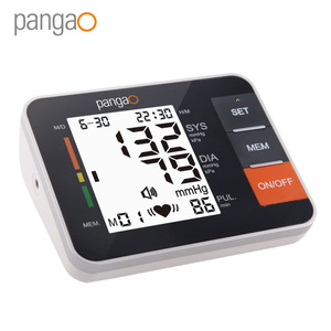Portable Home Care Automatic Arm Electronic Pangao Blood Pressure Monitor