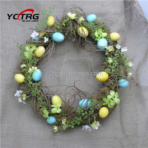 Easter Egg Decorative Natural Wreath Buy Decorative