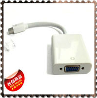 mini dp to vga cable mini displayport to vga adapter cable white for macbook