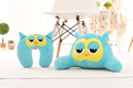 Animal Toy U-shape Plush Owl Neck Pillow Wholesale For Children/ Plush U-shape Pillow