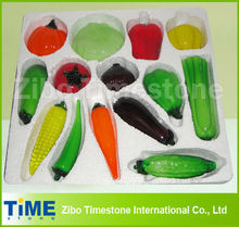 Glass Vegetable and Glass Fruits