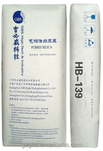 Treated Hydrophilic amorphous fumed silica HB-139