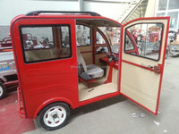 cargo tricycle with cabin electric starter / piaggio ape for sale/adult pedal car/auto rickshaw price in india