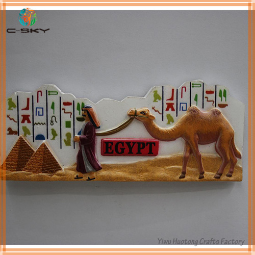 2014 Latest gift made in China camel fridge magnet