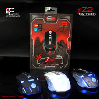 7D Hot selling Gaming mouse with colorful LED light