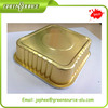 Gold Aluminum Foil Container Tray Plate
