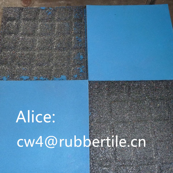 outdoor tiles for driveway/Outdoor Wearing-resistant rubber tile
