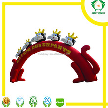 Animal themed cheap inflatable arch/Inflatable arch rental/Inflatable arch