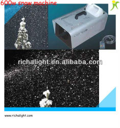 Hot Sale !600W Indoor Stage Snow Machine