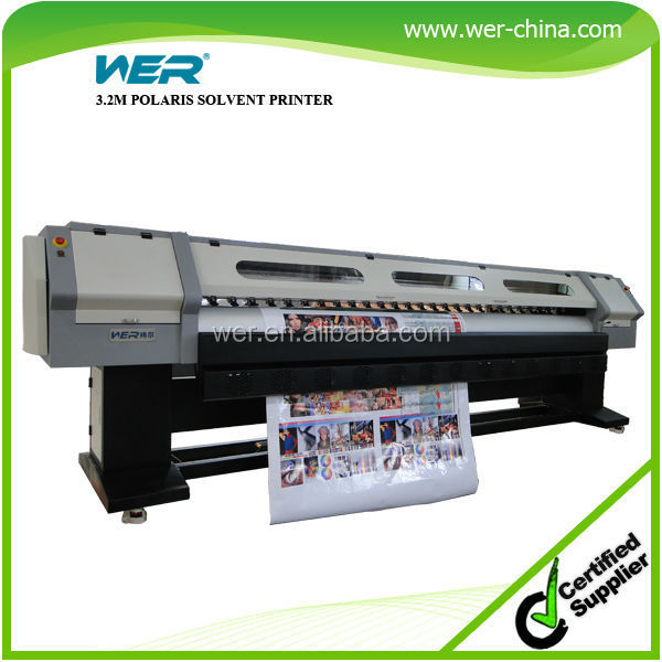 high quality spectra polaris digital banner machine 3.2m digital poster printing machine 3.2m vinyl printer