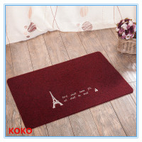 pattern customized cheap polyester door mat