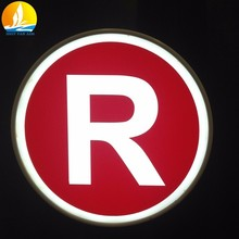 led sign board price factory price 3d signage with high quality led channel letter signs