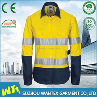 women hot sale reflective safety life t shirt workwear uniform