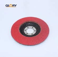 T27 Glass fiber backing ceramic carbide abrasive flap disc for Stone grinding