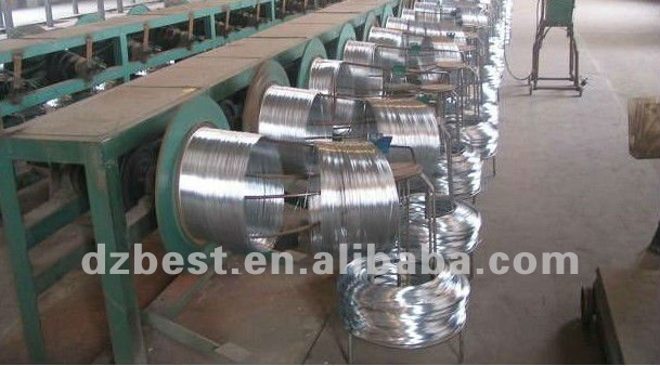 low price 22BWG electro galvanized binding wire