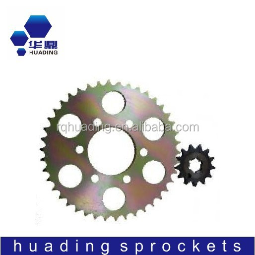 38T 15T motorcycle rear and front sprocket sets