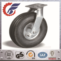 Heavy Duty Swivel Caster Pneumatic Rubber Wheel