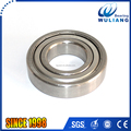 Stainless steel deep groove roller ball S6207ZZ bearing with 35*72*17mm