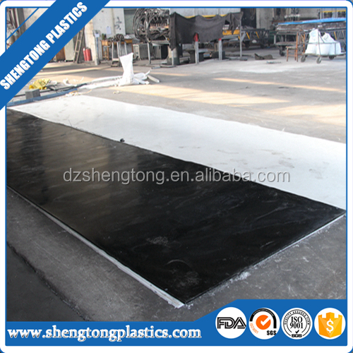 Black Recycling Hdpe Plastic Sheet for Sale