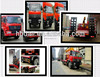 Dongfeng cargo vehicle big 10t straight arm loading boom crane truck sell