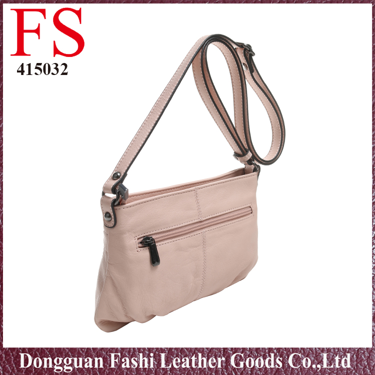 New design fashion 2017 simple design hot selling designers jing pin leather bags
