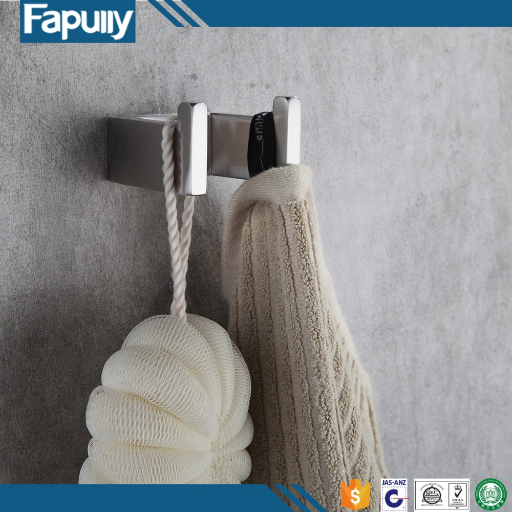 Fapully Double stainless steel U shape hanging hooks