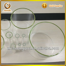 Clear Different sizes pyrex glass pipe (CY-Tube-k30)