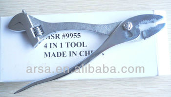 "4in1 joint adjustable wrenche 6"" & Slip joint 8"""