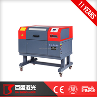 china made hot sale laser cutter and engraver AS5030 60w