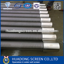 water well strainer pipe well screen casing pipe