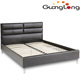 Design Furniture Upholstered Single Double Queen King Size Modern Luxury Led Leather Platform Bed
