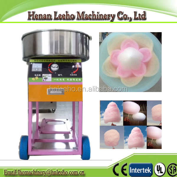 flower cotton candy making machine.machine for cotton candy / marshmallow .