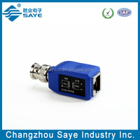 BNC male balun connector converter