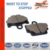 brake pad for YAMAHA rx 135;front brake pad for YAMAHA rd350;High quality motorcycle brake pads