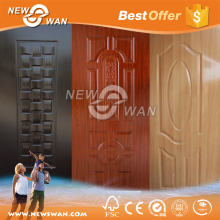 Decorative cabinet door plastic panels & melamine door skin