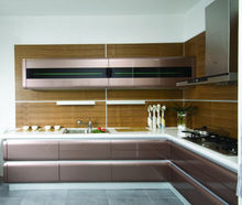 Luxury Kitchen Customized High Gloss Lacquer Kitchen Cabinets for Sale for Cooking