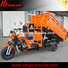 Hydraulic dump truck/self-dumping cargo tricycle for delivery