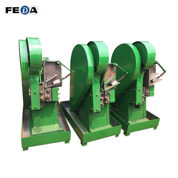 FEDA automatic titanium nuts and bolts making machine steel bar threading machine with CE certificate